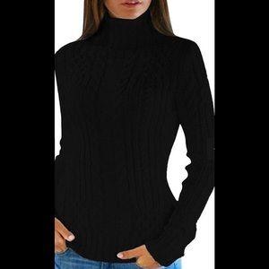 St.John's Bay Crew Knit Turtle Neck Sweater